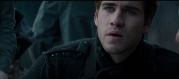 Liam Hemsworth Hunger Games mockingjay photo