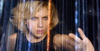 """Lucy"" dropped a bit to manage second place at this weekend's box office"