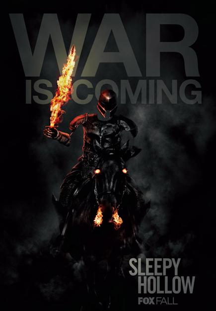 Sleepy Hollow season 2 SDCC promo poster