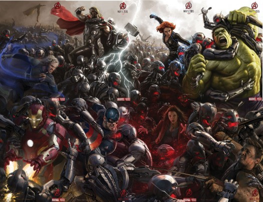 avengers age of ultron-poster SDCC
