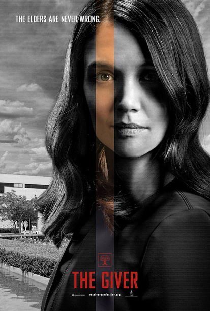 the-giver-katie holmes movie poster