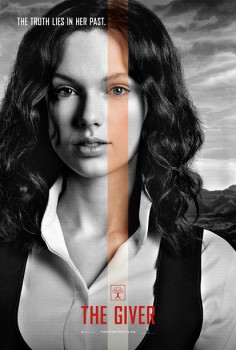 the-giver-taylor swift movie poster