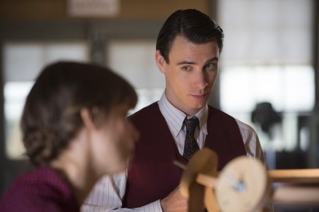 "Harry Lloyd as Paul Crosley on ""Manhattan"""