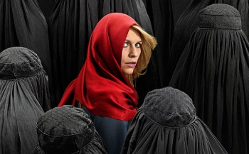 Claire Danes as Carrie Mathison in Homeland -Season 4