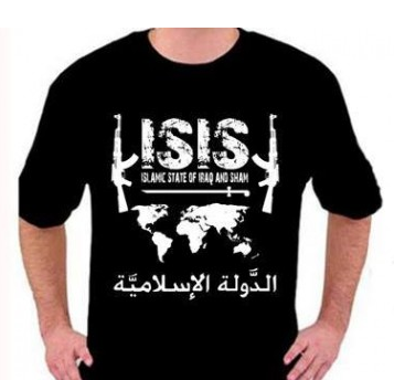 ISIS t-shirt available through Facebook