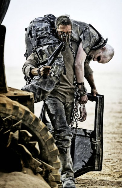 Tom Hardy Mad Max Fury Road carry Nuk Nicholas Hoult photo