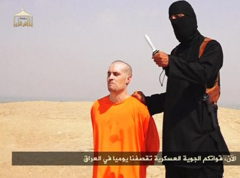 Not all Muslims will denounce violene: James Foley was murdered by the Sunni extremists, Islamic State in a new video