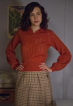 Alexia Fast as Callie Winter Manhattan season 1 photo
