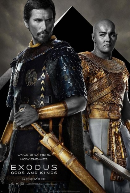 Exodus-Gods-and-Kings-Poster-Christian Bale-and-Joel Edgerton
