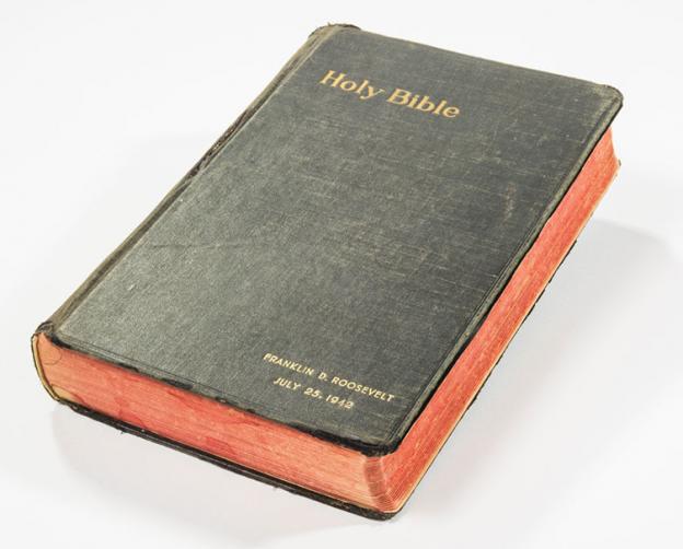 Franklin D  Roosevelt's Bible  photo supplied RRAuction.com