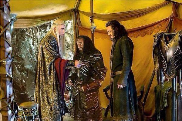 Hobbit Five Armies photo Richard Armitage Lee Pace Luke Evans