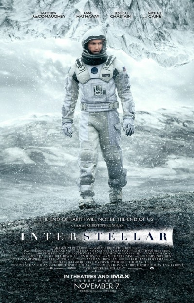 Interstellar poster Matthew McConaughey