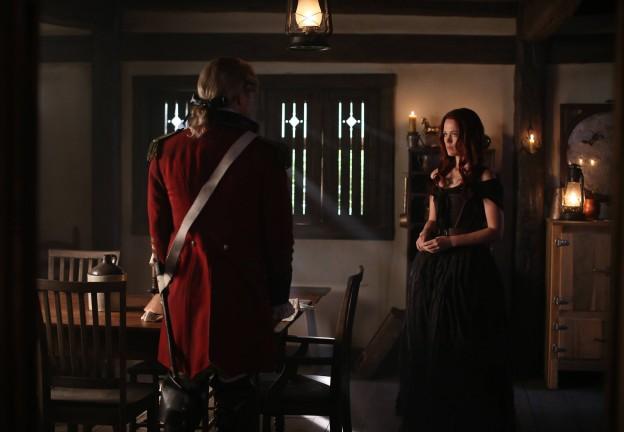 Katia Winter meets Abraham Sleepy Hollow season 2 photo Kindred