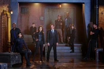 Marvel Agents of SHIELD season 2 cast photo