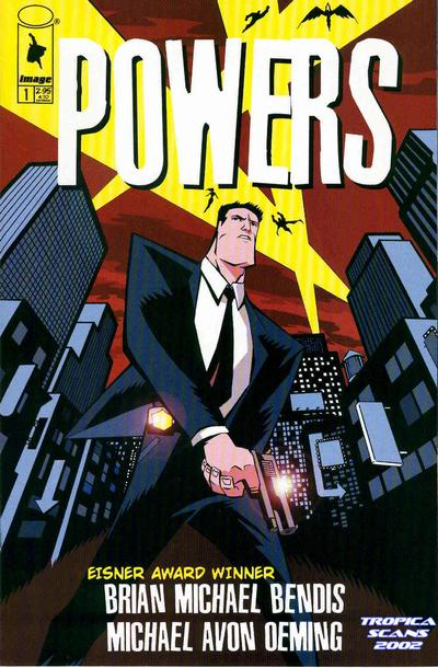 Powers number 1 comic book cover Image comics