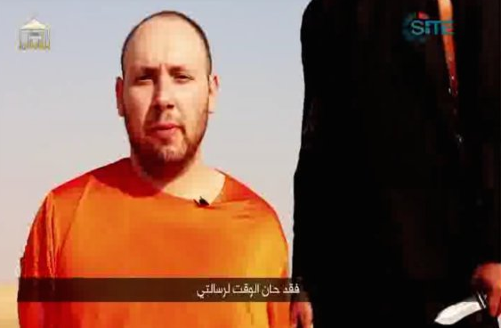 Steven Sotloff executed beheaded by Islamic State in new video