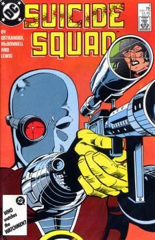 Suicide Squad comic book number 6