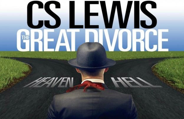 The Great Divorce by CS Lewis stage banner