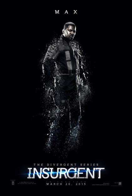 Mekhi Phifer as Max Insurgent motion poster