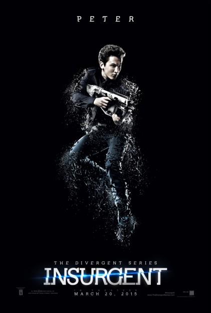 Miles Teller as Peter Insurgent motion poster