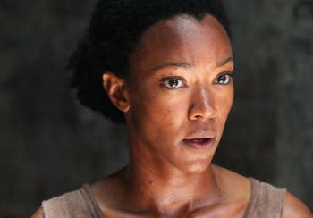 Sonequa Martin-Green as Sasha The Walking Dead season 5 photo