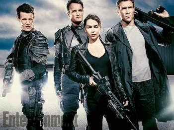 Terminator Genisys  first cast photo Matt Smith Jai Courtney