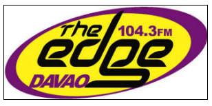 christian radio davao philippines the edge logo 104.3