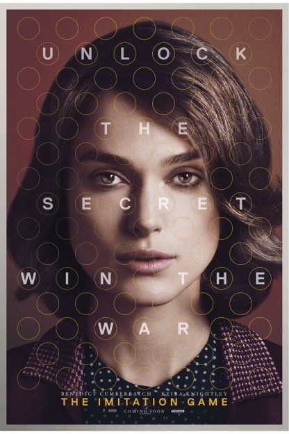 keira_knightley The imitation game movie poster