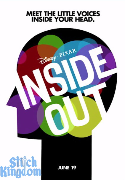 pixar inside out movie teaser poster