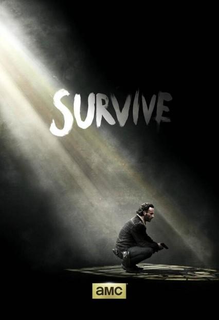 the-walking-dead-season 5 poster-survive