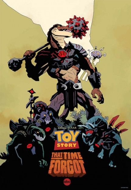 """Toy Story That Time Forgot"" poster by Mike Mignola"