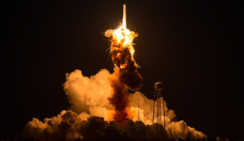 unmanned rocket explosion NASA