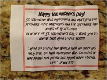 valentines day card JOhn 316