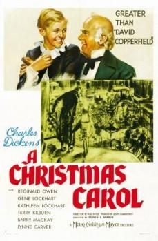 A Christmas Carol movie poster 1938