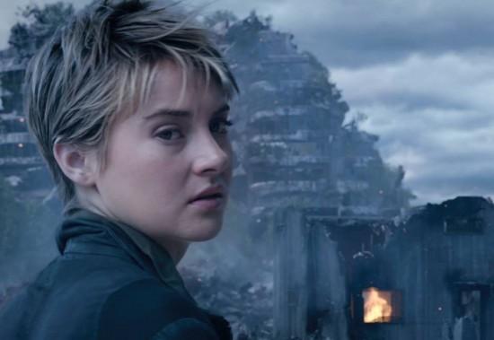 Insurgent Shailene Woodley photo as Tris