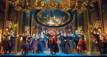 The Company performs Masquerade. Photo by Alastair Muir supplied via Straz Center