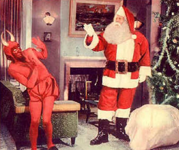 Santa Claus 1959 movie photo satan devil in picture