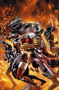 Suicide Squad Captain Boomerang Harley Quinn Black Manta, Deadshot