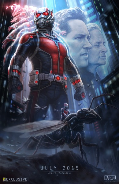 ant-man-poster marvel Paul Rudd Michael Douglas