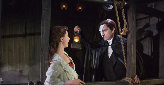 Chris Mann in Phantom of the Opera