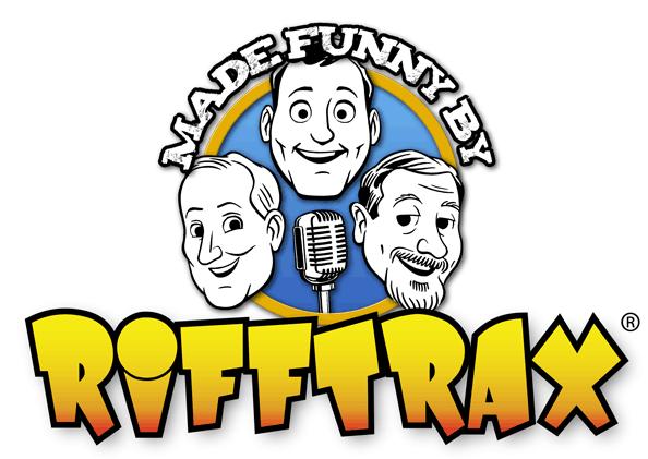 Made funny by RiffTrax logo