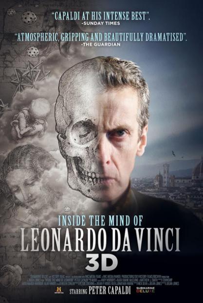 Peter Capaldi Inside the Mind of Leonardo Da Vinci poster
