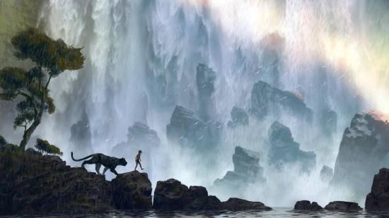 The Jungle Book concept art Disney