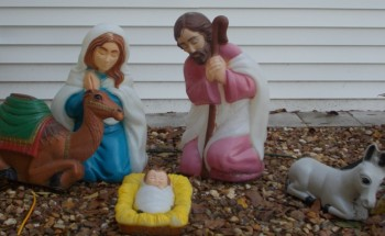 Indiana: Nativity scene stays! photo Alyson Jones