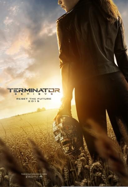 terminator-genisys-poster-emilia Clarke Sarah Connor