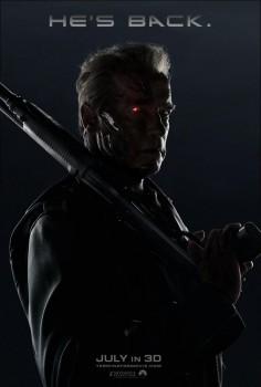 Arnold Schwarzenegger Terminator Genisys movie poster