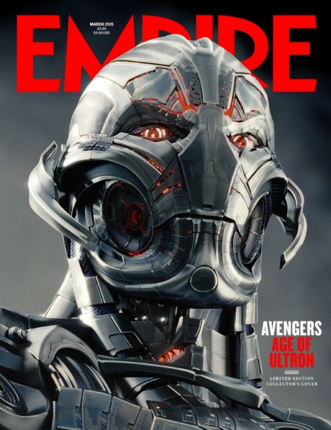 Avengers Age of Ultron Empire magazine cover Ultron cover