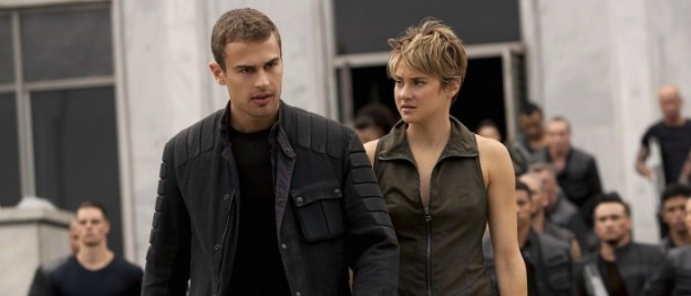Insurgent photo Theo James Shailene Woodley photo