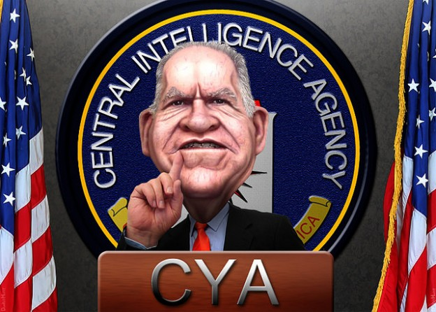 John Brennan CIA banner photo donkeyhotey