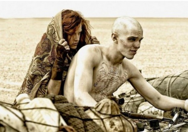 Nicholas Hoult marks chest mad max fury road